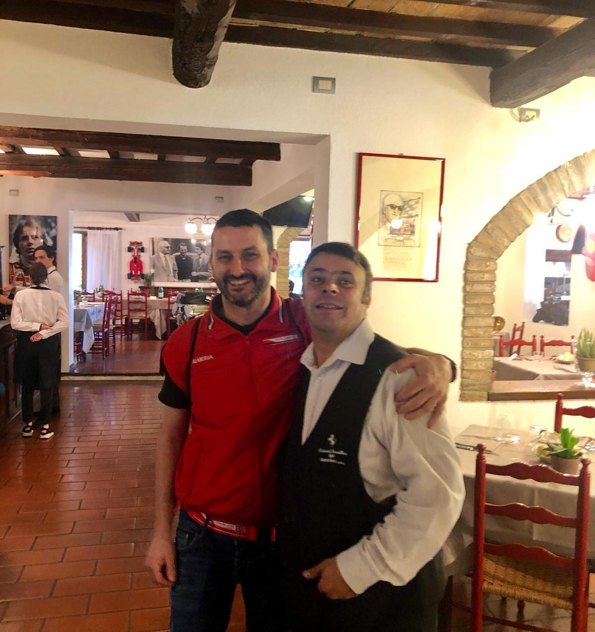 Con nuestro amigo Armando