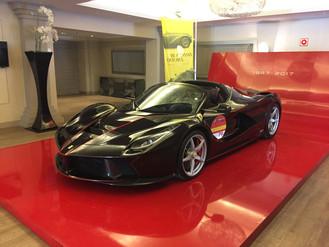 Celebracion 70 Aniversario Ferrari en España