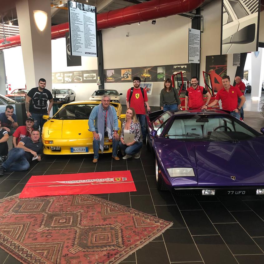 Grupo en Museo Ferrucio