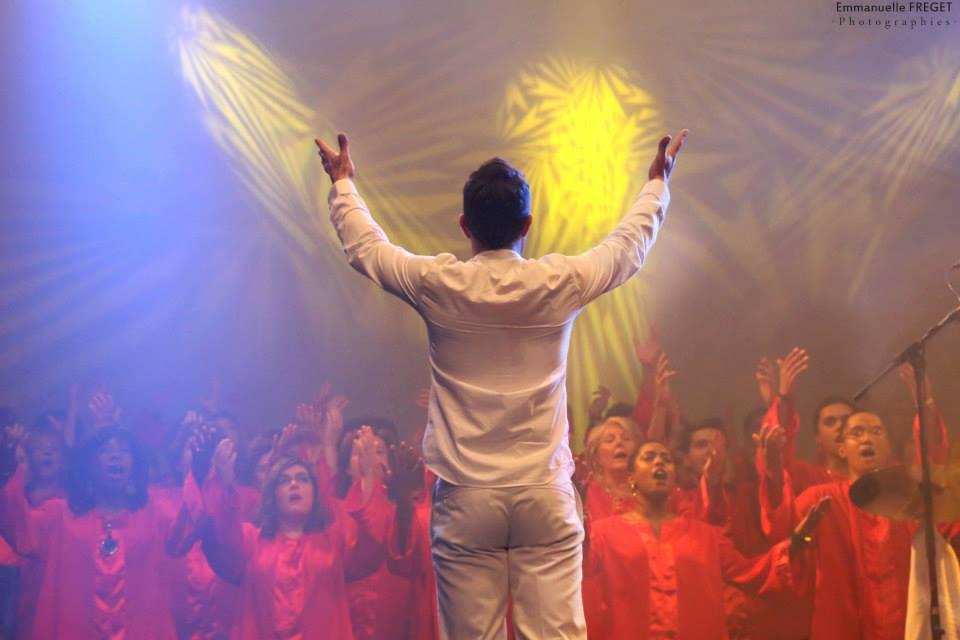 Loïc Geffrey et One heat Gospel