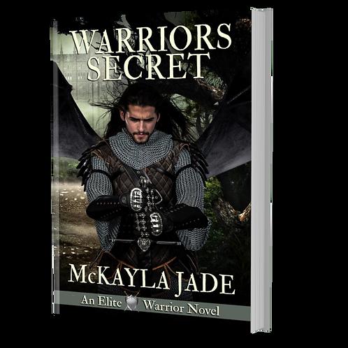 Signed Paperback of Warrior's Secret