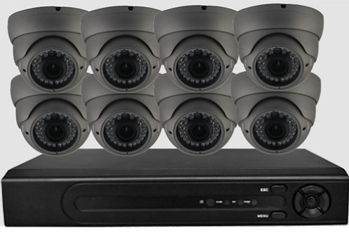 8 X PoE Security Camera + NVR kit