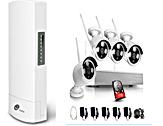 Wi-Fi security camera system & Wireless bridge