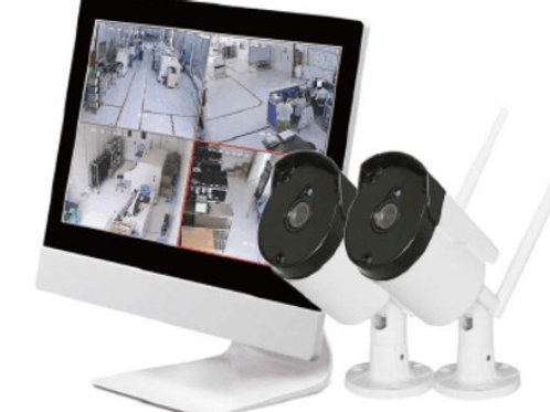 "10.1"" screen + 2  X 720P  Wi-Fi cameras"