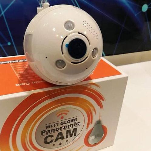 Wi-Fi screw tip Light Bulb Fish Eye Camera