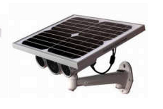 Solar Panel operated Security Camera. Wi-Fi or 4G compatible