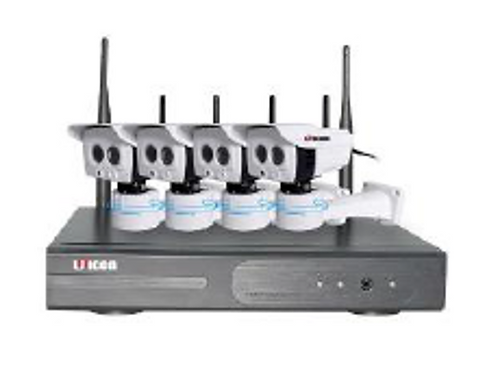 Professional Unicon 4ch 960P Wi-fi cameras & NVR
