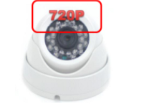 720P Dome security camera (720P)