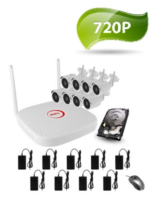 Wireless 8 x Camera Kit  (1TB harddrive included)