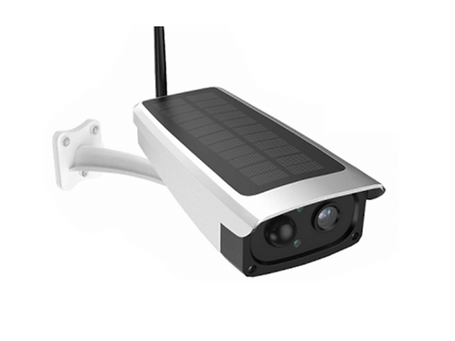 Solar Panel powered Security Camera