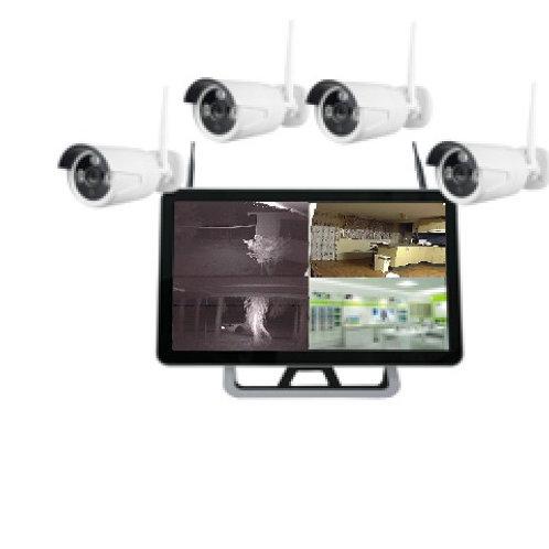 "4 x 1080P Wi-Fi cameras + 22"" Display screen (Includes 2 TB Hard Drive)"