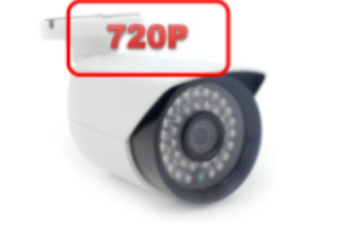 720P Security Camera (bullet type)