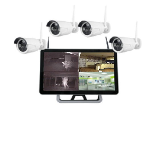 "4 x 1080P Wi-Fi cameras + 22"" Display screen (Includes 1 TB Hard Drive)"