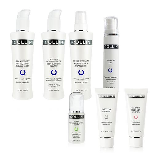 Kit pour peau acnéique inflammatoire