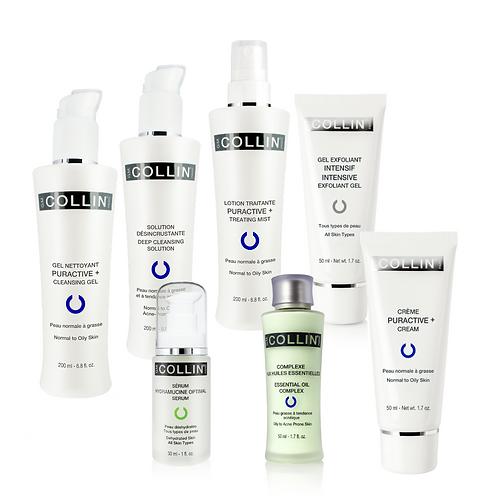 Kit pour peau acnéique pas inflammatoire