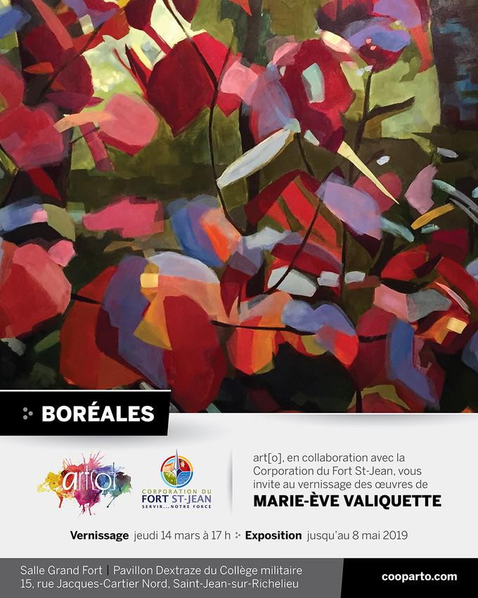 Exposition solo à Saint-Jean-sur-Richelieu