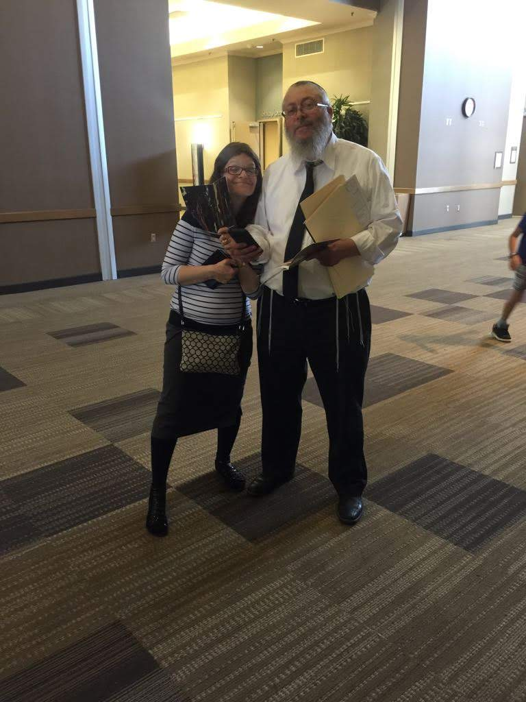 Rabbi and Rebetzin