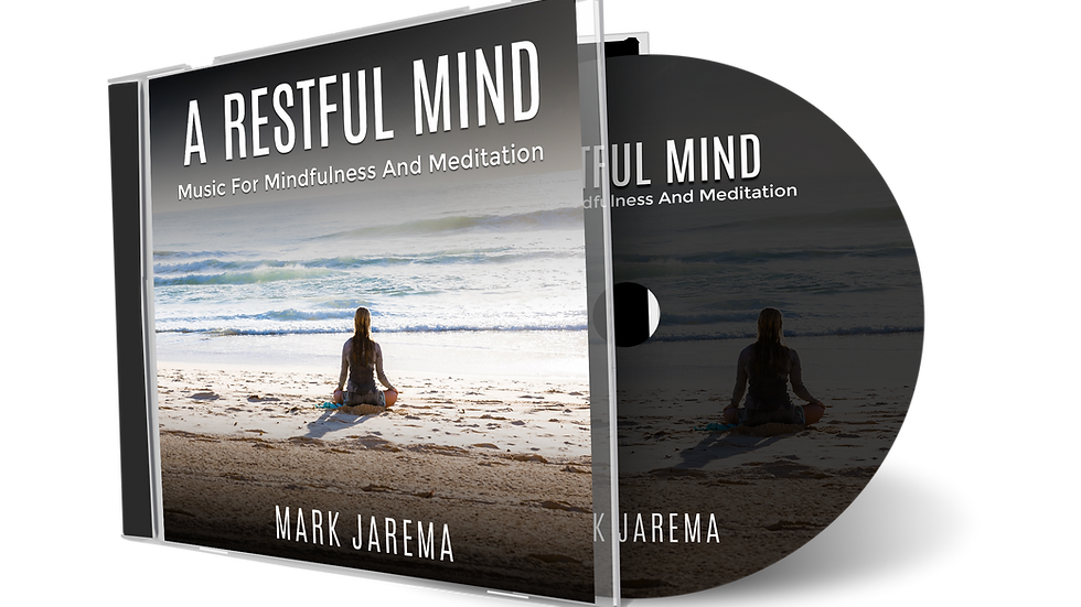 60 Minute Tracks - A Restful Mind Meditation & Mindfulness CD (Download)