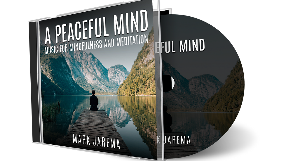 60 Minute Tracks - A Peaceful Mind Meditation & Mindfulness CD (Download)