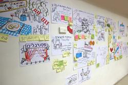 סיעור מוחות צוות חדשנות עיריית תל אביב