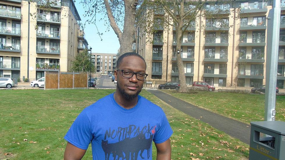 NP4 Blackout Metro Blue T-shirt