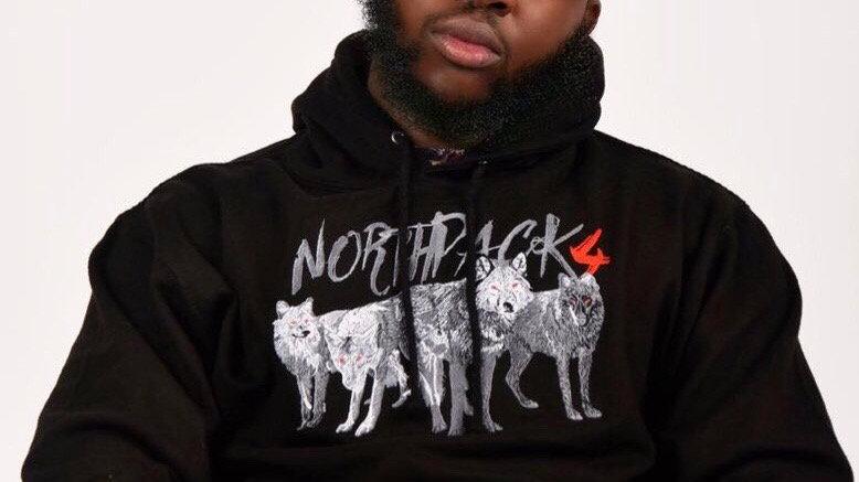 NP4 Black Supreme Hoodie
