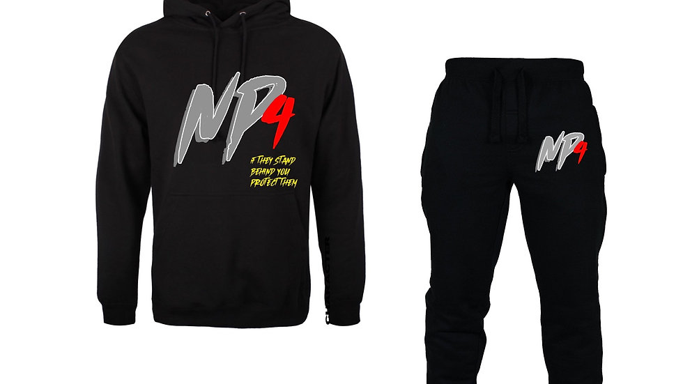 NP4 Black Protect Tracksuit