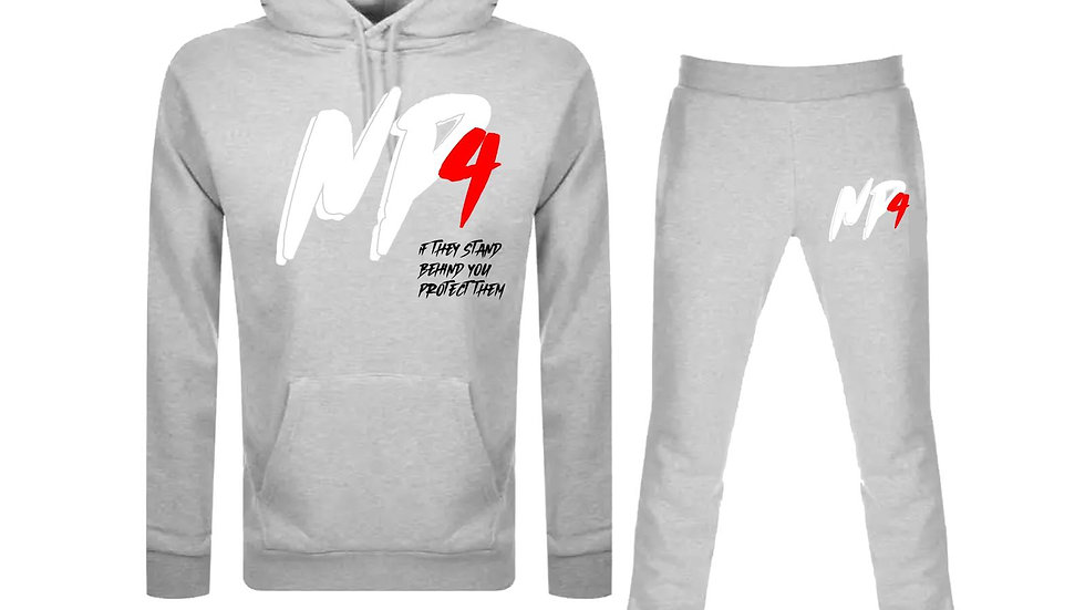 NP4 Grey Protect Tracksuit