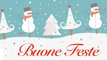 Buone feste dal Cherry House! - Happy Holidays from the Cherry House!
