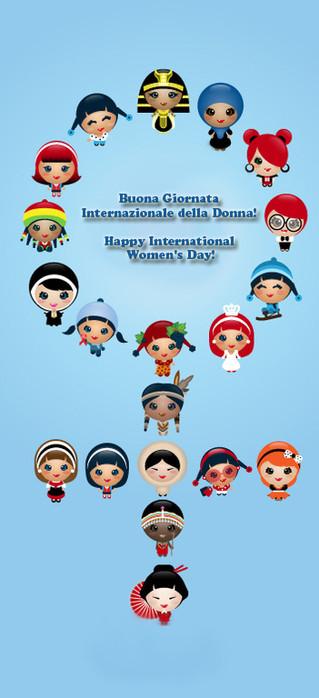 Buona Giornata Internazionale della Donna! - Happy International Women's Day!