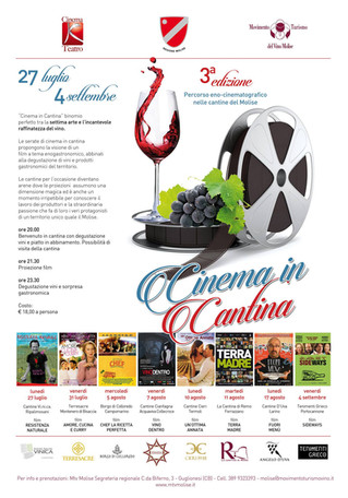 Percorso eno-cinematografico nelle cantine del Molise - Food, wine and cinema route in the cellars o