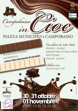 """Campobasso in Cioc, tre giorni di dolcezza! - Campobasso in """"Cioc"""", three days of sweetnes"""