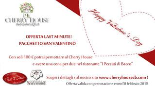 <3 LAST MINUTE - PACCHETTO SAN VALENTINO! <3