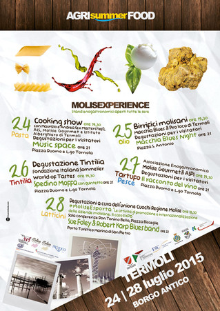 Sei sulla costa molisana? Partecipa all'AgriSummerFood di Termoli! - Are you on the coast of Mol