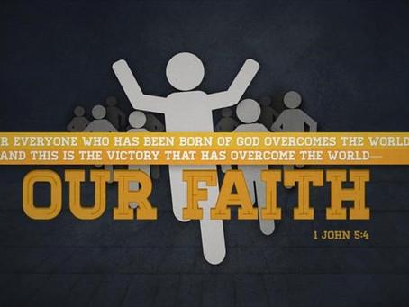 Assurance of Saving Faith 1 John