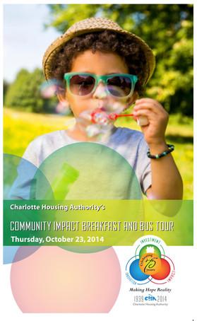 Charlotte Housing Authority Bus Tour Invitation