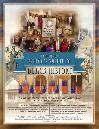 Black History Month Magazine Ad