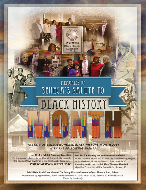 Black History Month Magazine Ad