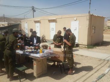 Pourim dans les bases militaires de la Judée par 100% Lahayal