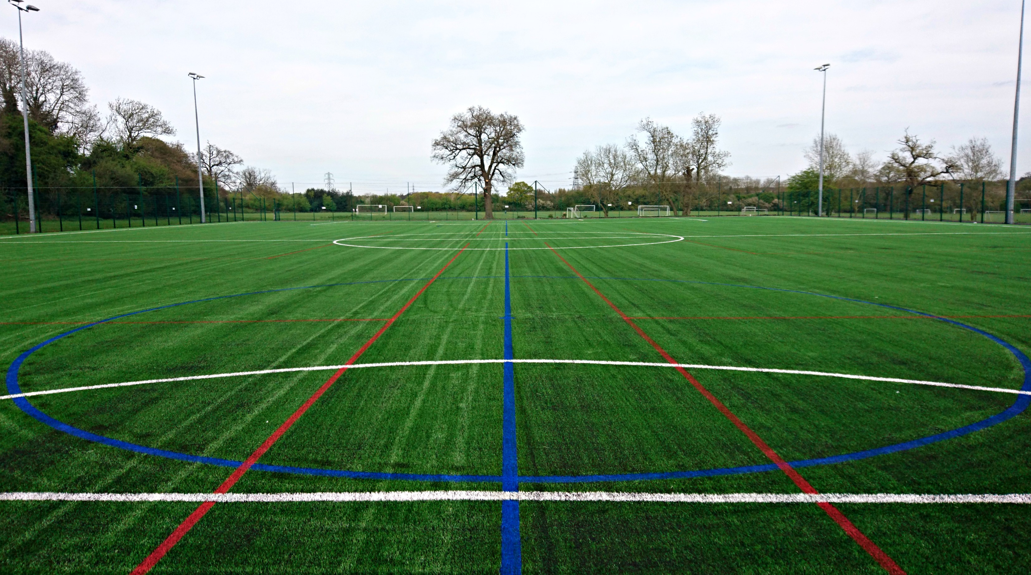 Line Marking on 3G Pitch