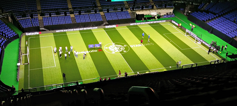 Star sixes sports surface