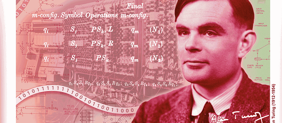 Alan Turing the face of the new £50 note