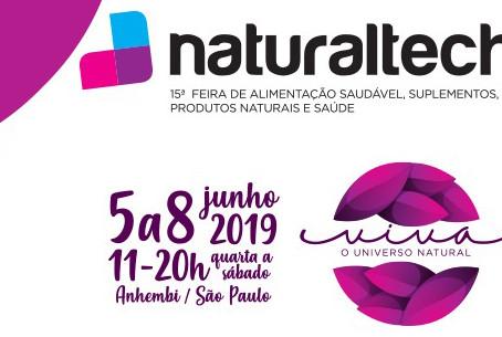 De 05 a 08 de junho estaremos na Naturaltech, em São Paulo.