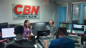Presidente do IEPTB-ES fala sobre protesto gratuito de títulos na CBN Vitória