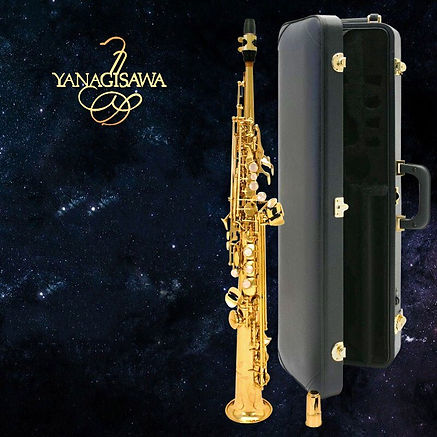 YANAGISAWA-S901-B-flat-Soprano-saxophone