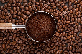 top-view-coffee-powder-strainer-coffee-b