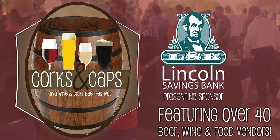 Corks & Caps: Iowa Wine & Craft Beer Festival