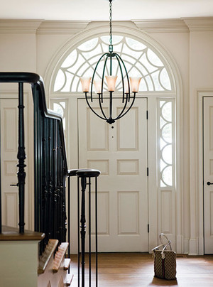 Selecting the perfect sized chandelier for your Foyer
