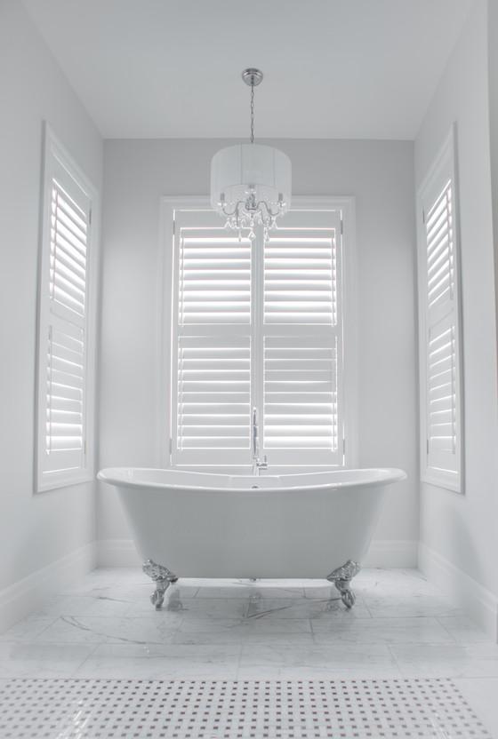 Add a 19th Century Chic to a modern bathroom
