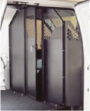Steel Partition with Door